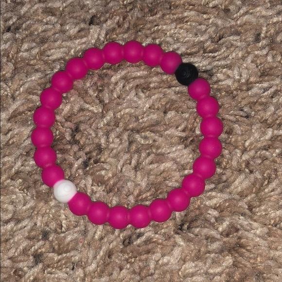 Lokai Jewelry - neon pink lokai